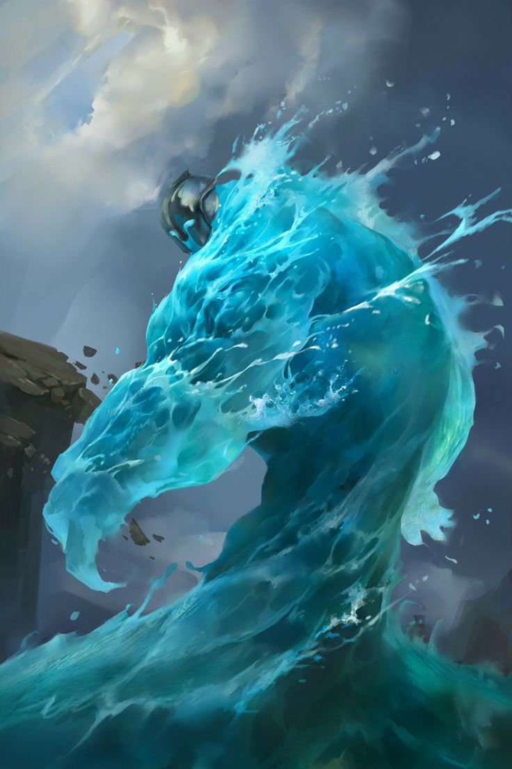 air elemental art